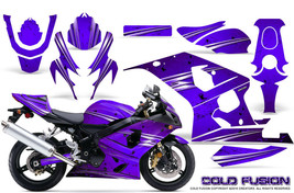 Suzuki Gsxr Gsx 600 750 2004 2005 Graphic Kits Creatorx Decals Cold Fusion Pr - $296.95