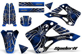 KAWASAKI KX125 KX250 99-02 GRAPHICS KIT CREATORX DECALS SPIDERX SXBL - $178.15