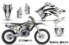 KAWASAKI KXF450 KX450F 12-15 CREATORX GRAPHICS KIT DECALS TRIBAL BOLTS WNP - $257.35