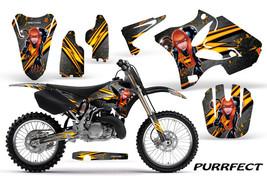 Yamaha Yz125 Yz250 2 Stroke 2002 2012 Graphics Kit Creatorx Decals Purs - $178.15