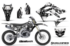 KAWASAKI KXF450 KX450F 12-15 CREATORX GRAPHICS KIT DECALS SKULLCIFIED SNP - $257.35