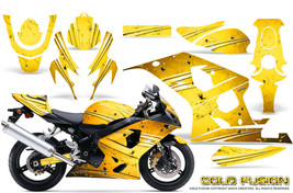 Suzuki Gsxr Gsx 600 750 2004 2005 Graphic Kits Creatorx Decals Cold Fusion Y - $296.95