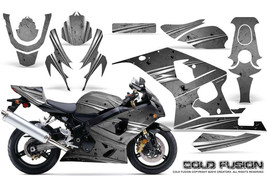 Suzuki Gsxr Gsx 600 750 2004 2005 Graphic Kits Creatorx Decals Cold Fusion S - $296.95