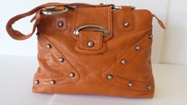 GUESS VINTAGE ORANGE HANDBAG/SHOULDER BAG SOFT DEEP - $601,40 MXN