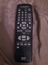 MITSUBISHI RM-D2 DVD PLAYER REMOTE CONTROL IR TESTED - $12.00