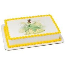 Disney's PRINCESS TIANA Edible Cake Topper lice... - $8.25