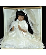 Collectible Memories Chantel Doll 1st Communion pillow African American ... - $47.77
