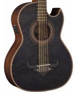 Oscar Schmidt OH32SEQTB Trans Black Acoustic Electric Maple Top Bajo Qui... - $374.95