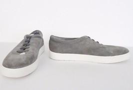 NIB Vince Canyon Womens Suede Slip On Sneakers Loafers Sz 9.5 M Steele Bone $250 - $118.75