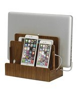 G.U.S. Walnut Multi-Device Charging Station and... - $39.59