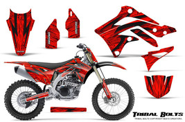 KAWASAKI KXF450 KX450F 12-15 CREATORX GRAPHICS KIT DECALS TRIBAL BOLTS RNP - $257.35