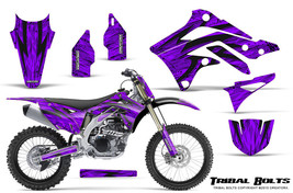 KAWASAKI KXF450 KX450F 12-15 CREATORX GRAPHICS KIT DECALS TRIBAL BOLTS PRNP - $257.35