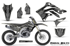KAWASAKI KXF450 KX450F 12-15 CREATORX GRAPHICS KIT DECALS TRIBAL BOLTS SNP - $257.35