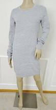 Nwt Romeo & Juliet Couture Textured Sweater Dress Sz l Large Lunar Rock ... - $67.27