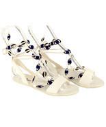 Loeffler Randall for Madewell Cleo Eye Sandal Size 6.5 Style B0097 New - ₨8,514.35 INR