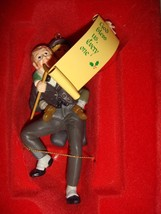 Enesco 1986 Bob Cratchit & Tiny Tim God Bless Us Every One Ornament - $16.49