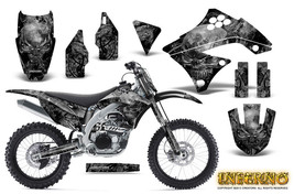 KAWASAKI KXF450 KX450F 09-11 GRAPHICS KIT CREATORX DECALS INFERNO SNP - $257.35