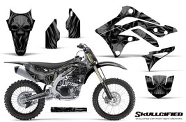KAWASAKI KXF450 KX450F 12-15 CREATORX GRAPHICS KIT DECALS SKULLCIFIED BNP - $257.35