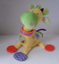 Kids Preferred Giraffe BABY Developmental Plush TOY Rattle Teether Mirror image 2