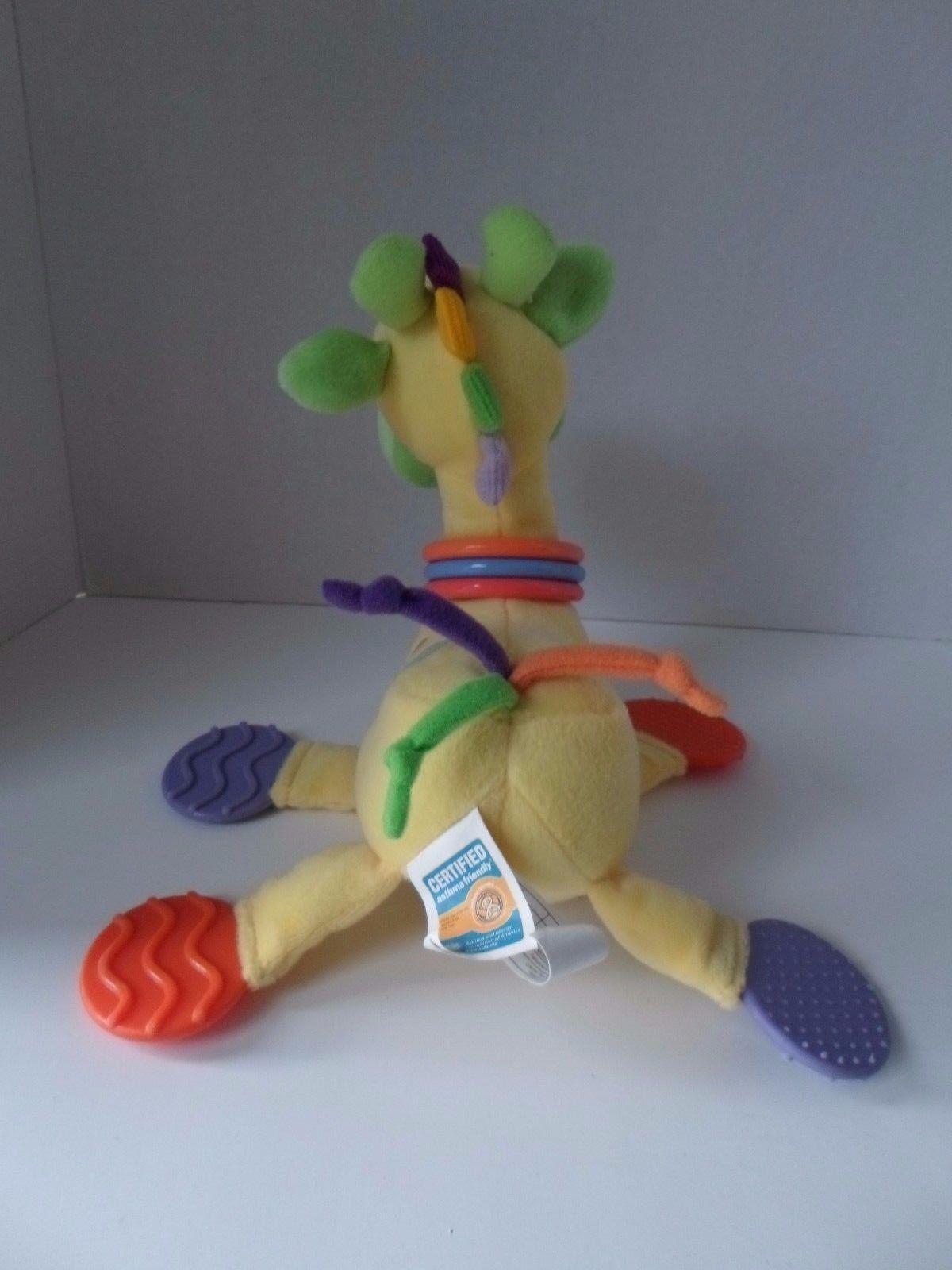 Kids Preferred Giraffe BABY Developmental Plush TOY Rattle Teether Mirror image 4
