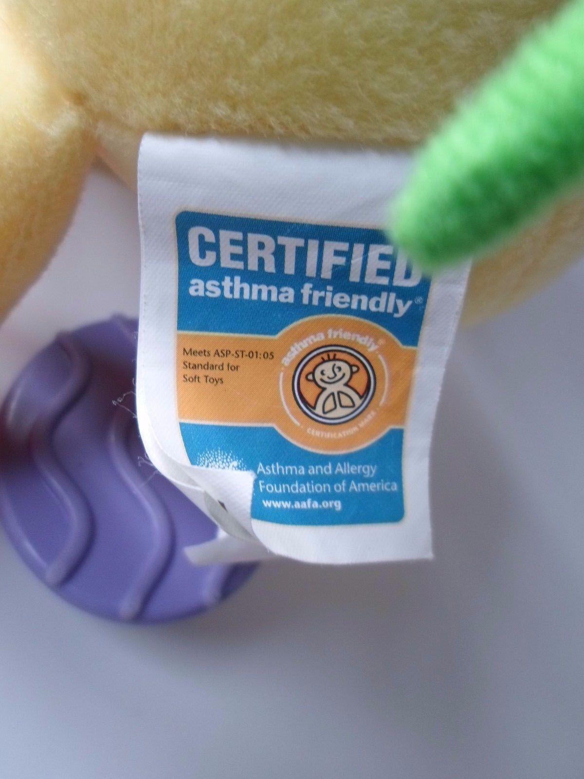 Kids Preferred Giraffe BABY Developmental Plush TOY Rattle Teether Mirror image 6