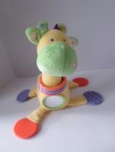 Kids Preferred Giraffe BABY Developmental Plush TOY Rattle Teether Mirror image 5