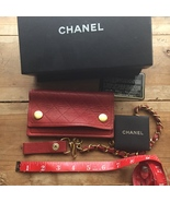 Authentic Chanel Wallet/ Wristlet - Red leather... - $2,000.00