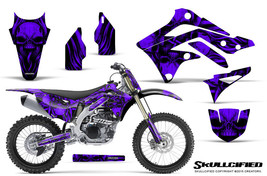 KAWASAKI KXF450 KX450F 12-15 CREATORX GRAPHICS KIT DECALS SKULLCIFIED PRNP - $257.35