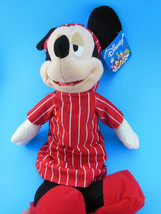 """DISNEY PIXAR 15"""" Plush MICKEY MOUSE in Nightshirt TOY STORY and Beyond MWT - $10.39"""