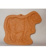 Cotton Press Cow Cookies Clay Mold Terra Cotta Baking Country - $19.99