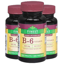 Vitamin B-6 100mg by Finest Nutrition by Finest Nutrition - $28.98+