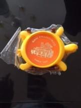 VTG 1970s NIP Yellow Plastic Turtle Coasters w/ Plastic Brown Rack San Francisco - $24.75