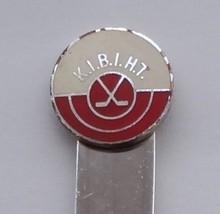 Collector Souvenir Spoon KIBIHT Kamloops Int'l Bantam Ice Hockey Tournament - $3.99