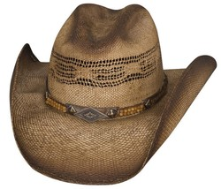 Bullhide Women's Bangora Straw Cowboy Hat - FULL SPEED - Sizes S, M, L, XL - $49.99