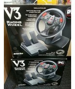 InterAct V3 Racing Wheel for Windows and DOS Games - $48.99