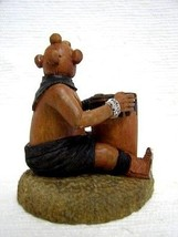 Hopi Indian Carved Mudhead Pencil Holder Kachina Doll Sculpture by Keith... - $585.00