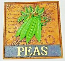 Peas Patch Postal Decorative Wall Plaque New Ho... - $21.99