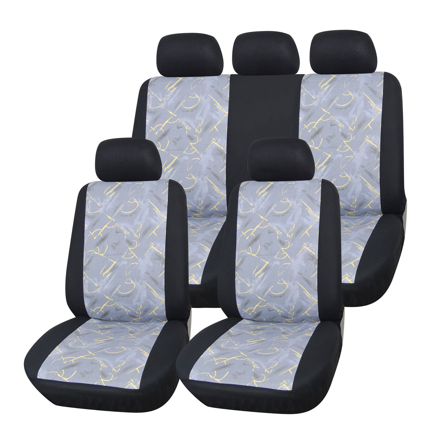 Adeco 2 Piece Car Vehicle Protective Seat Covers