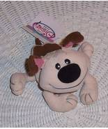 "Disney Mulan Little Brother Beige & Brown Plush Beans 6"" Blue Collar Pet... - $8.79"