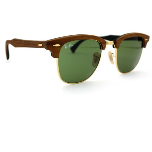 3f2974670a Ray-Ban Sunglasses Clubmaster Wood With and 50 similar items
