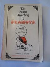 Vtg The Gospel According to Peanuts Robert L Short 1965 Paperback book - $10.00