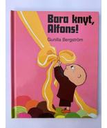 Set of 2 books Bara knyt, Alfons! Aja baja Alfonns Aberg (Swedish) - $17.75