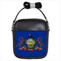 Pennsylvania Leather Sling Bag &  Women's Handbag - American Home States (USA) - $16.48+