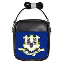 Connecticut Leather Sling Bag &  Women's Handbag - American Home States (USA) - $16.48+