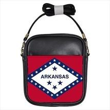 Arkansas Leather Sling Bag &  Women's Handbag - American Home States (USA) - $16.48+
