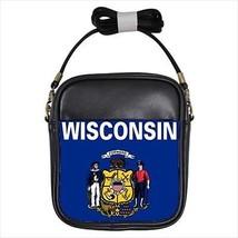 Wisconsin Leather Sling Bag &  Women's Handbag - American Home States (USA) - $16.48+