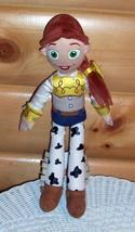 """Disney Toy Story Plush Cowgirl Jessie 15"""" with Ultra-Soft Pretty Braid - $7.69"""