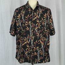 Cooke Street Camp Aloha Hawaiian 100% Cotton Floral Shirt Men Size XL EUC - $23.38