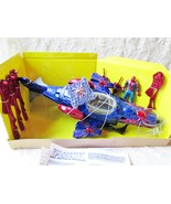 The Amazing Spider-Man Web Copter Toy NIB Playset Action Figure Missiles Marvel - $85.00