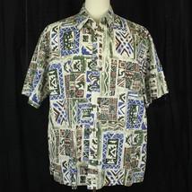 Cooke Street Hawaiian Camp Aloha 100% Cotton Shirt Men Size XL EUC - $23.38